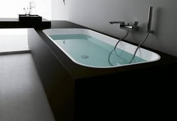 Kos Geo Einbaubadewanne ovale Badewanne 170 180 Ovalbadewanne zum ... | {Badewanne einbauen 62}