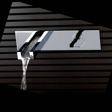gessi rettangolo cascata rubinetterie bagno armaturen badarmaturen wasserfall italienisches. Black Bedroom Furniture Sets. Home Design Ideas