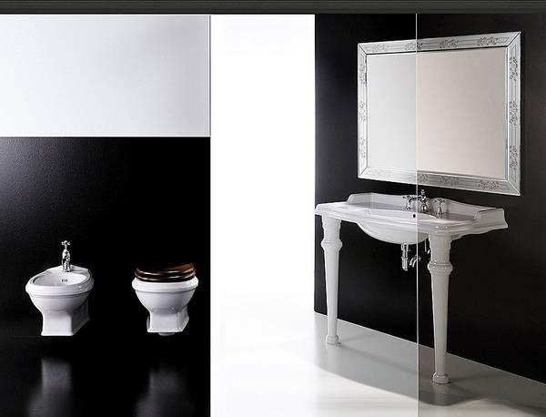 Simas ceramica ceramiche sanitari frozen oh flow lft - Consolle bagno classico ...