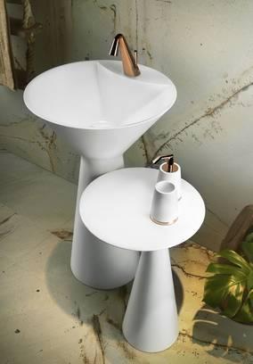 Gessi Cono Badkollektion Armaturen Waschtische Accessoires Badewanne