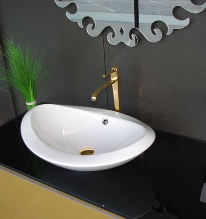 rapsel nido aufsatzwaschtisch passend zu lavasca mini badewanne keramik mit berlauf. Black Bedroom Furniture Sets. Home Design Ideas
