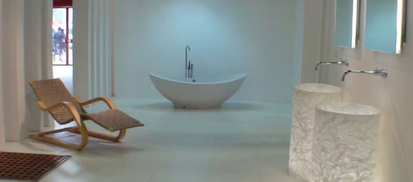 rapsel vision waschtisch freistehend mit beleuchtung. Black Bedroom Furniture Sets. Home Design Ideas
