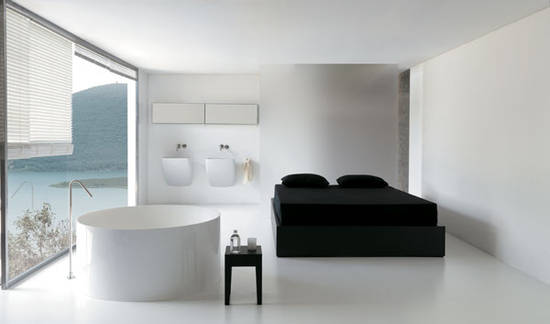 colacril baddesign dual atmosfere corian badewannen italien. Black Bedroom Furniture Sets. Home Design Ideas
